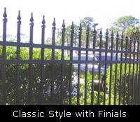 Classid Style with Finials